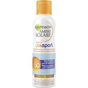 Garnier Ambre Solaire UV Sport Napvédő Spray SPF50