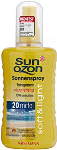 Sun Ozon Sonnenspray Transparent LSF20