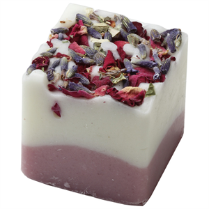 Badefee Badewürfel Lavendel-Rose