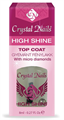 Crystal Nails High Shine Top Coat Gyémánt Fénylakk