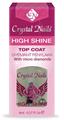 Crystal Nails High Shine Top Coat Gyémánt Fénylakk