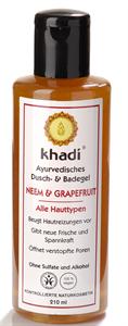 Khadi Ayurvédikus Fürdő- és Tusológél Neem & Grapefruit