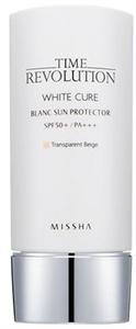 Missha Time Revolution White Cure Blanc Tone Up Sun Protector SPF50+ / PA+++