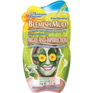 Montagne Jeunesse Deep Cleansing Blemish Mud Maszk - Aloe Vera & Willow