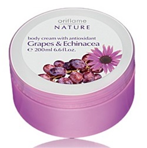 Oriflame Nature Grapes & Echinacea Body Cream