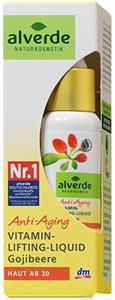 Alverde Anti-Aging Vitamin Lifting-Liquid Gojibeere - Gojibogyós Szérum