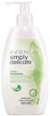 Avon Simply Delicate Intim Lemosó A Nehéz Napokra