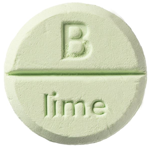Bomb Cosmetics Lime Zuhanytabletta