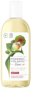 Dove Powered By Plants Oil Body Wash Geranium