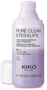 Kiko Pure Clean Eyes & Lips