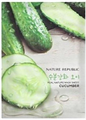 Nature Republic Real Nature Mask Sheet - Cucumber