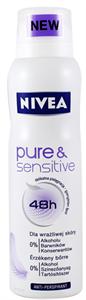 Nivea Pure Sensitive Izzadásgátló Deo Spray