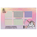 RdeL Young I Love Unicorns Rainbow Shimmer Eyeshadow Palette