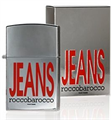 Roccobarocco Silver Jeans For Men