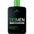 Schwarzkopf 3D Men Hair& Body Shampoo