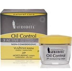 Afrodita Oil Control 3 Aktive Hidratáló Krém