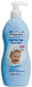 Babydream Kopf bis Fuss Fürdető és Sampon
