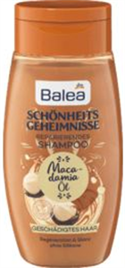 Balea Schönheitsgeheimnisse Macadamia öl Shampoo