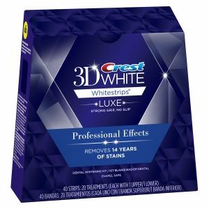 Crest 3D Whitestrips Professional Effects Luxe