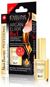 Eveline Argan Elixir 8in1 Intenzív Regeneráló Olaj