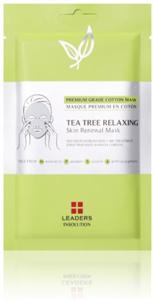 Leaders Tea Tree Relaxing Skin Renewal Maszk