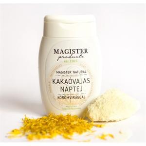 Magister Products Natural Kakaóvajas Naptej Körömvirággal SPF6
