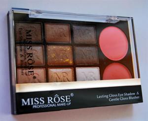 Miss Rose Lasting Gloss Eye Shadow & Gentle Gloss Blusher