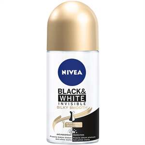 Nivea Black&White Invisible Silky Smooth Golyós Deo