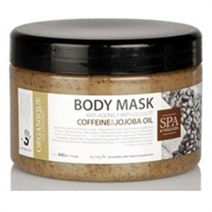 Organique Body Mask Coffeine& Jojoba Oil