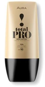 Aura Total Pro Liquid Foundation SPF30