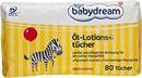 Babydream Öl-Lotions-Tücher