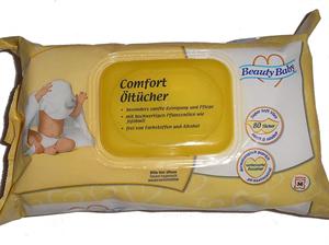 Beauty Baby Komfort Olajos Törlőkendő