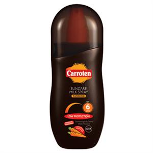 Carroten Suncare Milk Spray Tanning SPF6