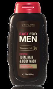 Oriflame East for Men 2 Az 1-Ben Sampon és Tusfürdő