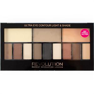 Revolution Ultra Eye Contour Szemhéjpúder Paletta - Light and Shade