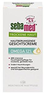 Sebamed Omega 12% Bőrnyugtató Arckrém Száraz Bőrre