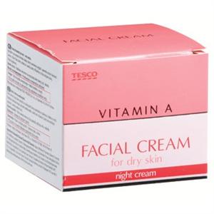 Tesco Vitamin A Facial Cream For Dry Skin