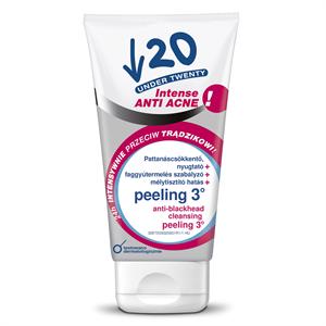 Under Twenty  2 in1 Aktív tisztító gél + peeling