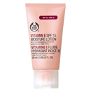 The Body Shop E Vitaminos Hidratáló Lotion SPF15