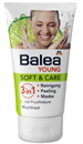 Balea Young Soft&Care 3in1 Arctisztító Gél Gyümölcssavval