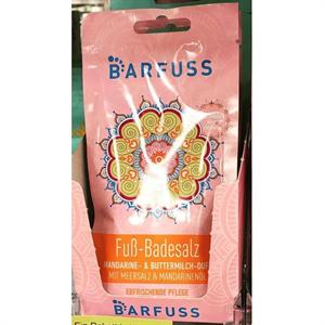 Barfuss Fuss-Badesalz Mandarine- & Buttermilch-Duft