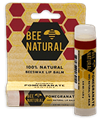 Bee Natural Pomegranate Lip Balm