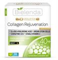 Bielenda Liquid Crystal Biotechnology 7D Collagen Rejuvenation 40+ Feszesítő, Ránctalanító Hatású Éjszakai Krém-Koncentrátum