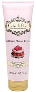 Cafe De Bain Raspberry And Rose Creme Tarte Softening Shower Creme - Tusolókrém