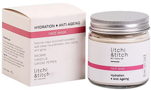 Litchi & Titch Hydration & Anti Ageing Face Mask