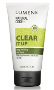 Lumene Natural Code Clear It Up Deep Purifying Gel Wash