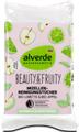 Alverde Beauty&Fruity Micellás Nedves Arctisztító Kendő