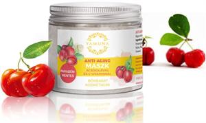 Yamuna Anti-Aging Maszk Acerolával és C-Vitaminnal