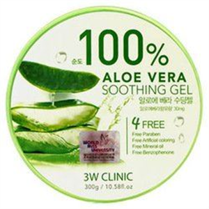 3W Clinic Professional 100% Aloe Vera Soothing Gel