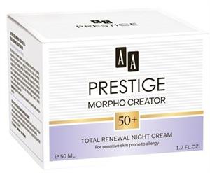 AA Prestige Morpho Creator 50+ Intenzív Bőrmegújító Éjszakai Krém